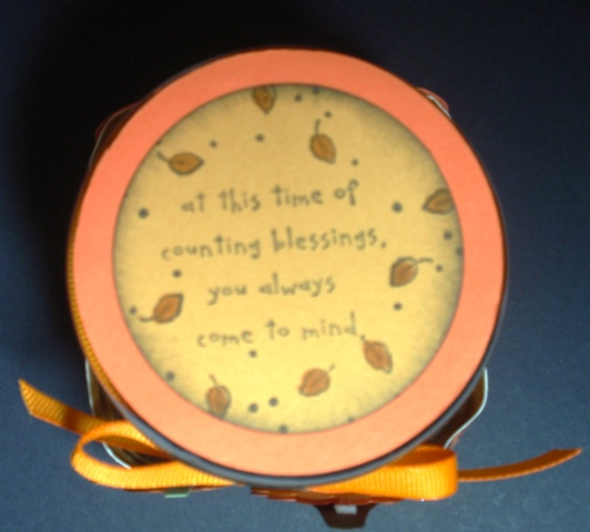 Thanksgiving Blessing Mix-2010-Lid
