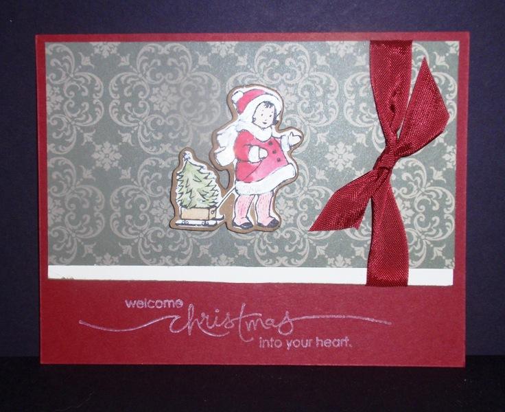 Smooch-Holiday-Greeting Card Kids
