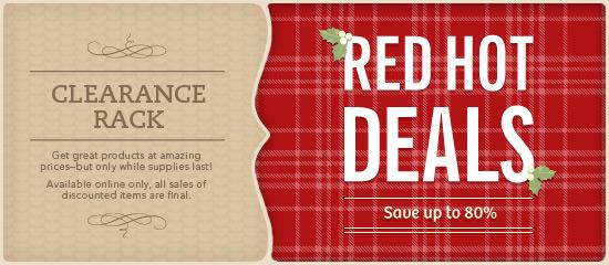 Red Hot Deals-12-11
